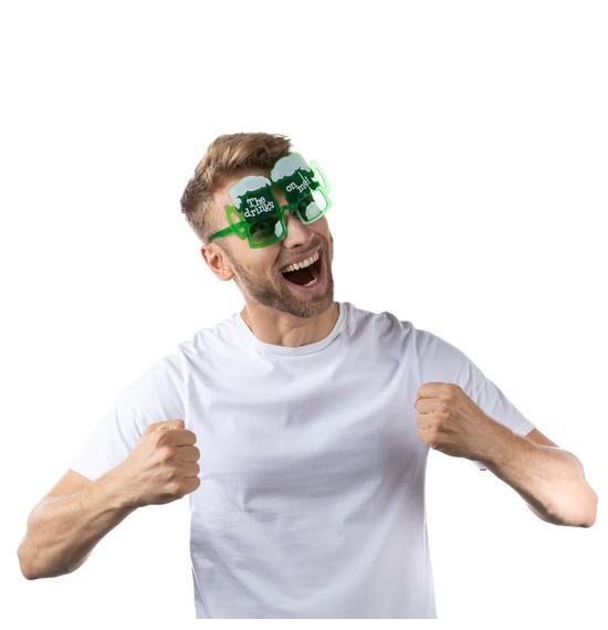St Patrick's Drinks on me Glasses
