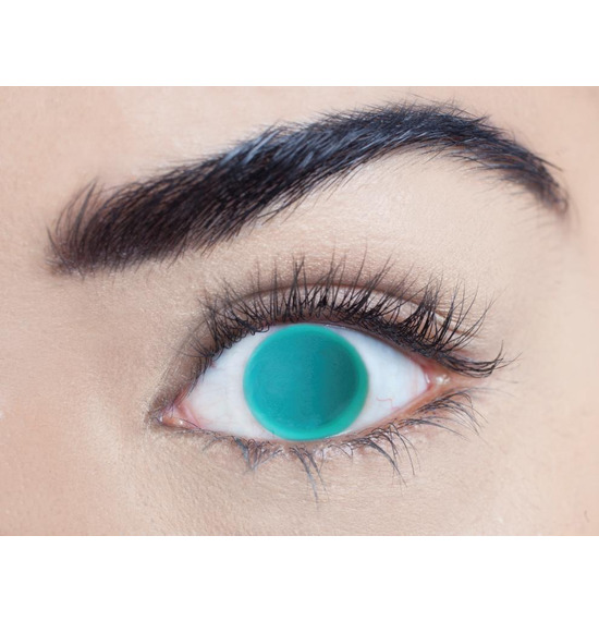 Mesmereyez Blind Green Contact Lenses