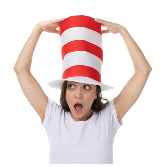 Cat Stripy Hat