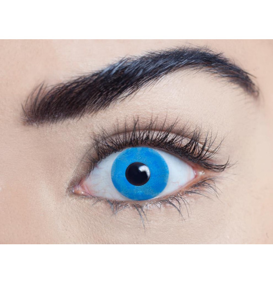 Mesmereyez Ice Walker Blue Contact Lenses