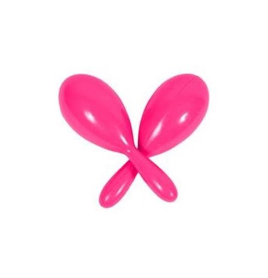 Pink Neon Maracas