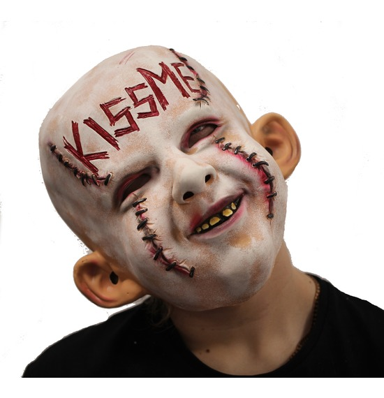 Kiss Me Evil Latex Mask