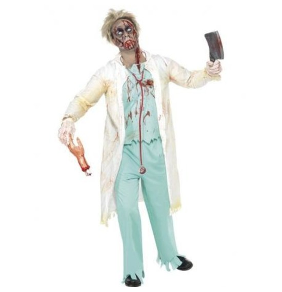 Zombie Doctor Costume by Smiffys