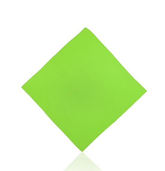 Light Green Plain Bandana
