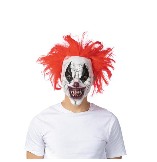 Evil Clown Latex Mask