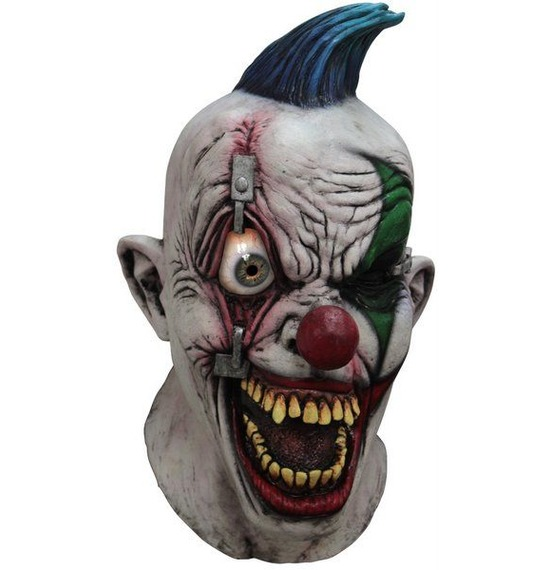 Digital Duz Clown Pinned Eye Mask