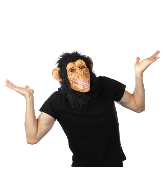 Chimp Latex Mask