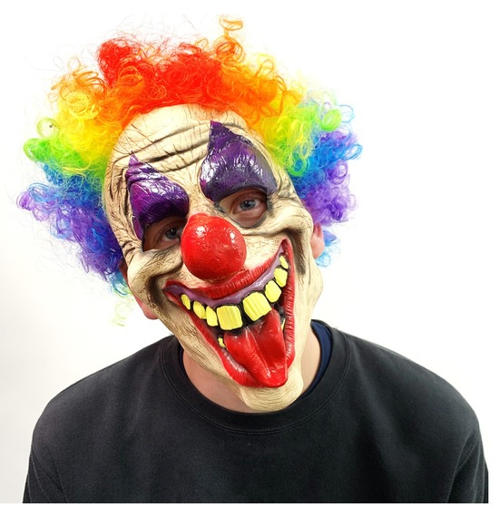 Clown Latex Mask