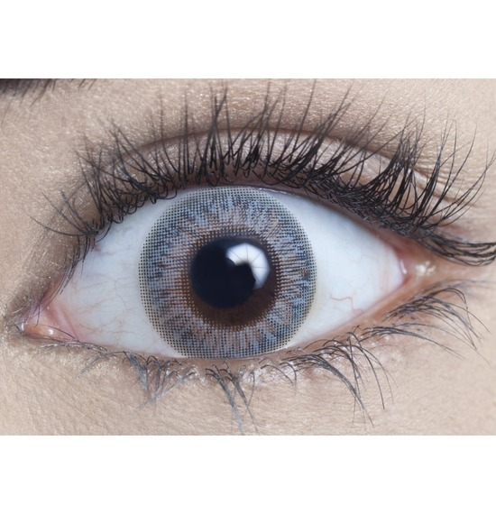 Cool Grey Contact Lenses