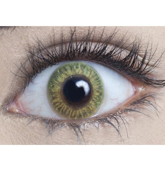 Lime Green Contact Lenses