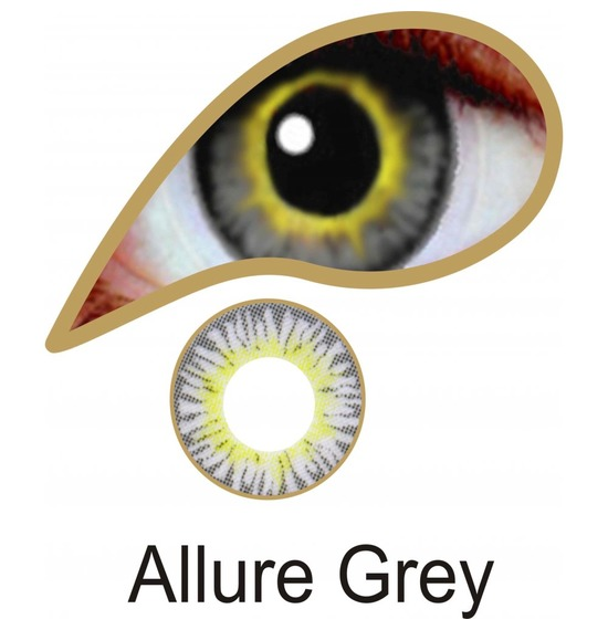 Allure Grey Contact Lenses