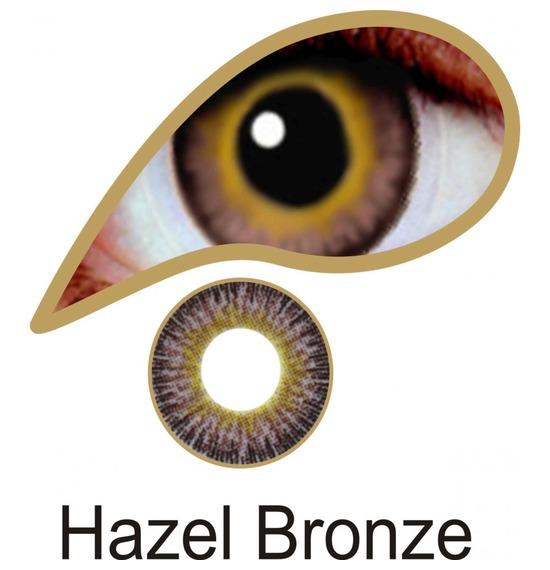 Hazel Bronze Contact Lenses