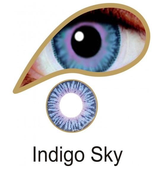 Indigo Sky Contact Lenses