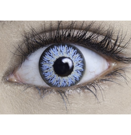 Crystal Blue Contact Lenses