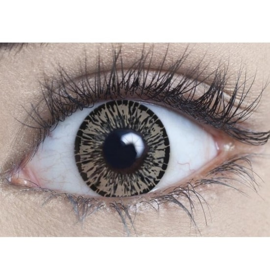 Forest Hazel Contact Lenses