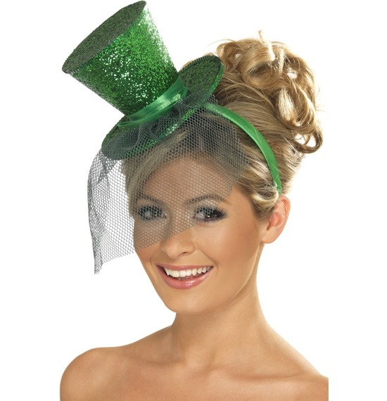 Fever Mini Top Hat Green