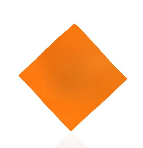 Orange Plain Bandana