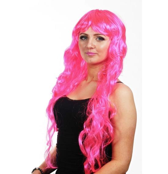 Pink Wavy Wig