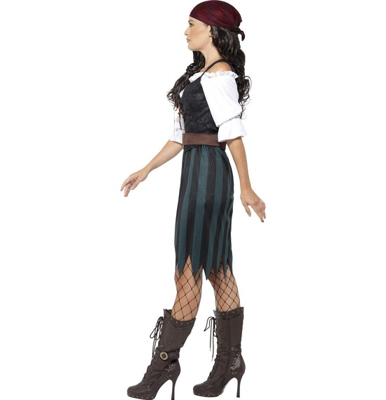 Pirate Deckhand Costume by Smiffys