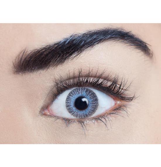 Platinum Aqua Contact Lenses