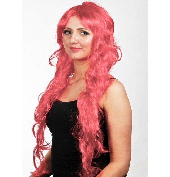Red Wavy Wig