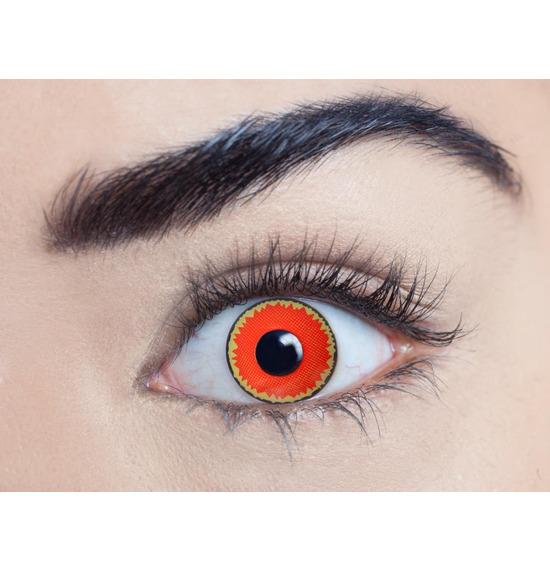 Mesmereyez Red Vampire Contact Lenses
