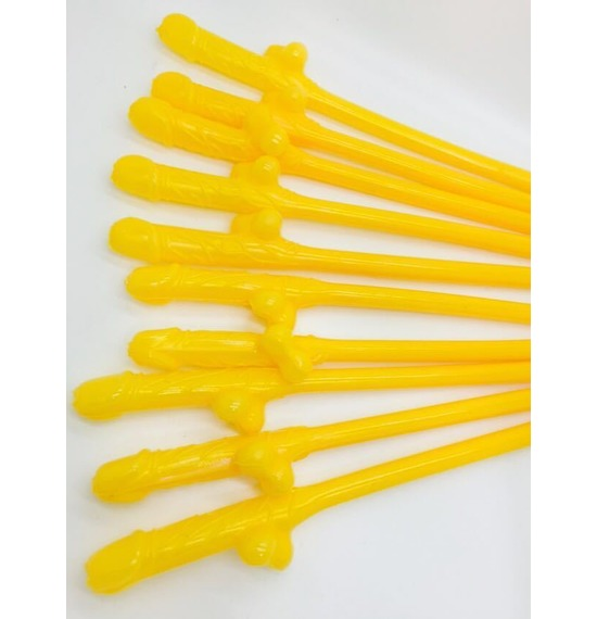 Yellow Willy Straws