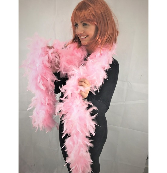 Luxury Feather Boa Baby Pink