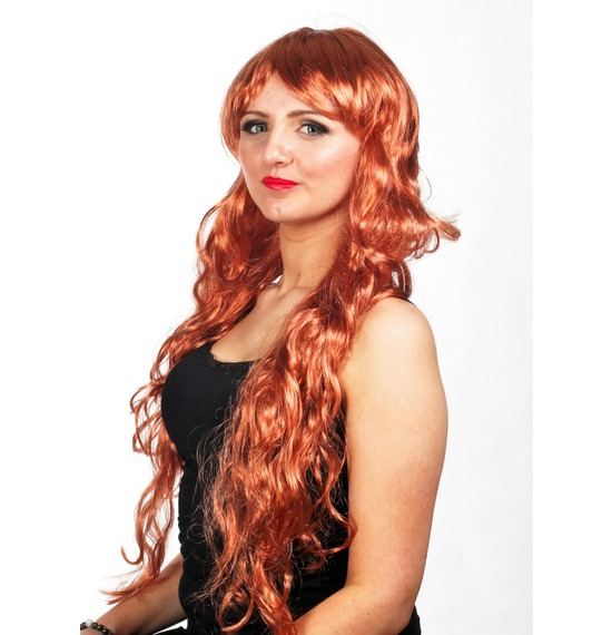 Burgundy Wavy Wig