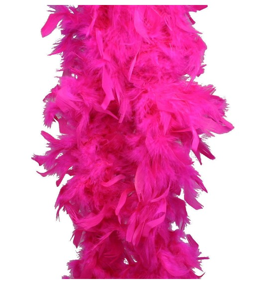 Luxury Feather Boa Hot Pink
