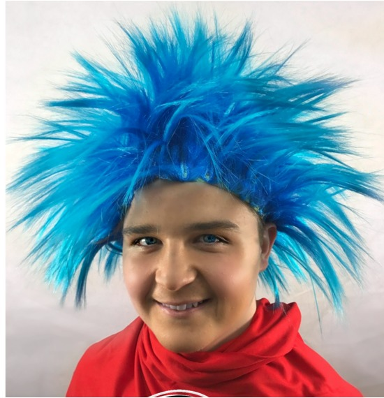 Thing 1 Character Wig