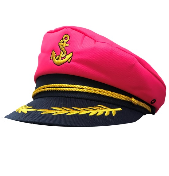 Pink Anchor Sailor Hat