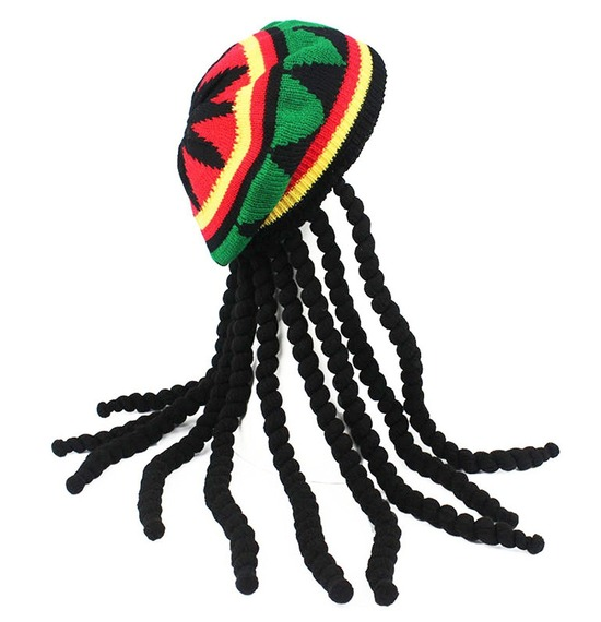 Rasta Hat Machine Made
