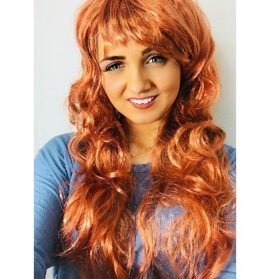 Brown Wavy Wig