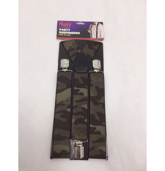 Dark Army Suspenders