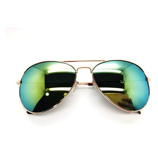 Gold Aviator Glasses