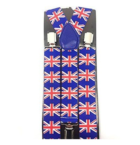 Union Jack Bright Suspenders