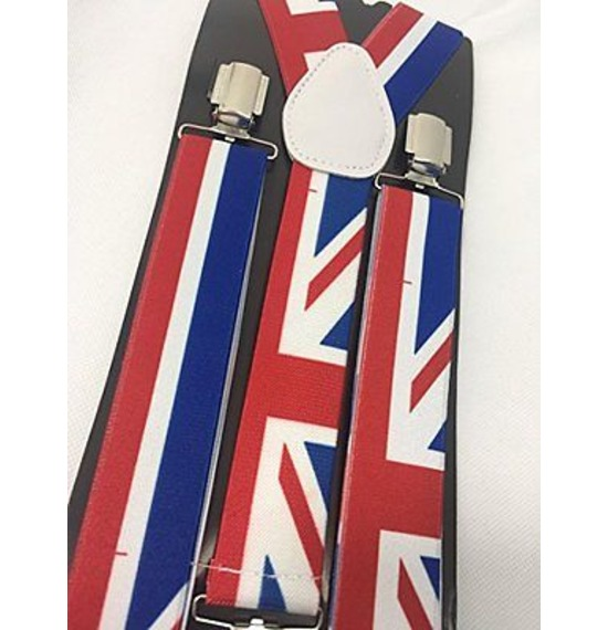 Big Union Jack Suspenders