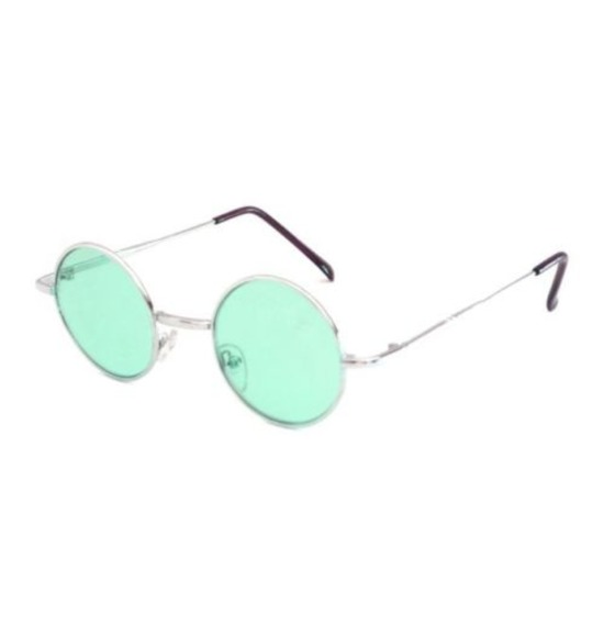 Green Hippy Glasses