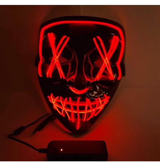 Crazy Smile LED Masks