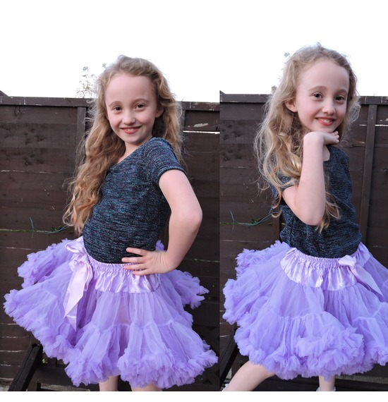 Childrens Luxury Lilac TUTU