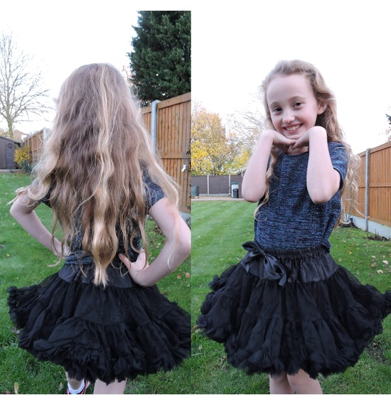 Childrens Luxury Black TUTU