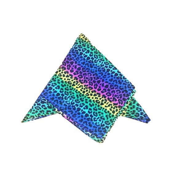 Colorful Leopard Print Bandana