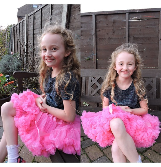 Childrens Luxury Neon Pink TUTU