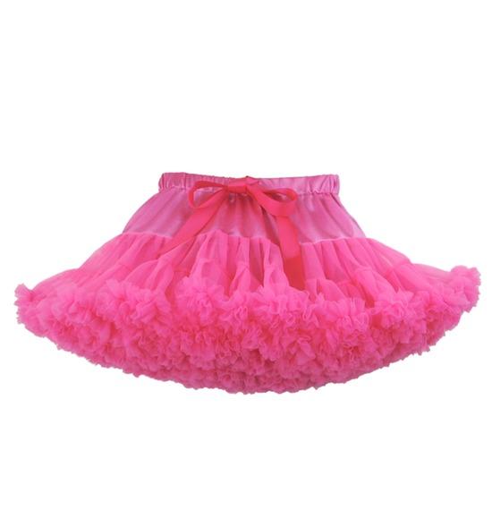 Childrens Luxury Neon Pink TUTU