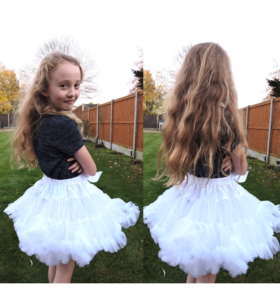 Childrens Luxury White TUTU