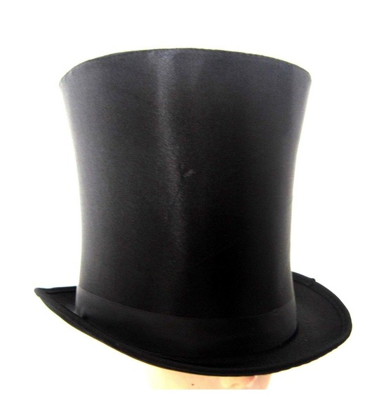 Black Bell Top Hat