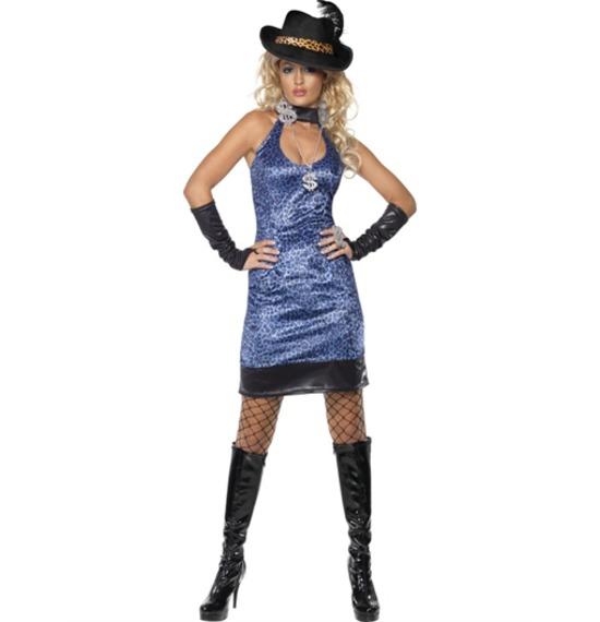 Pimp Lady Costume