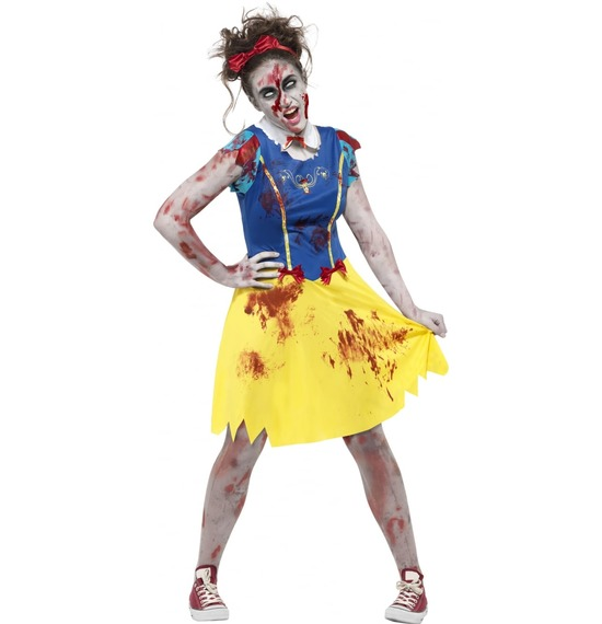 Zombie Miss Snow Teen Costume by Smiffys