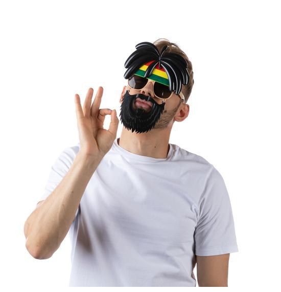 Rasta Face Sun Glasses
